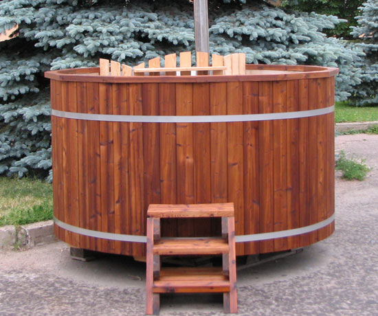 Hot Tub in thermowood