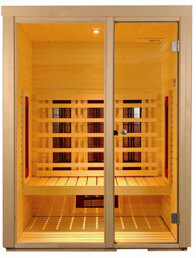Sauna infrarosse con radiatori della Philips - offerte e occasioni del mese