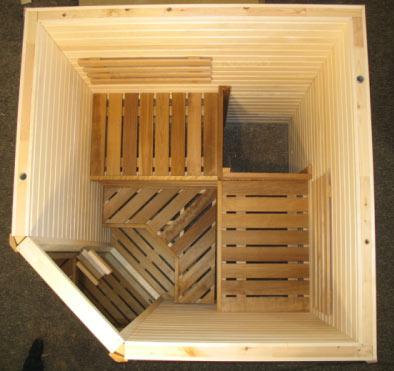 Sauna finlandese per due tre persone sauna da casa - Prezzi sauna per casa ...