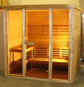 Saune infrarosse e saune finlandese -- Produzione di saune artigianale Hydrius