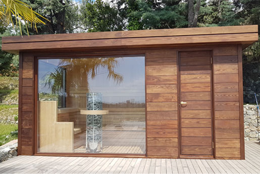 Saune da esterno hydrius saune - Stufe per esterno ...