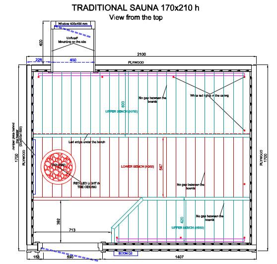 Bagno Turco Misure.Saune Con Tetto Spiovente Su Misura Hydrius Saune