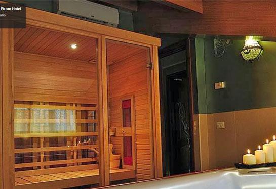 Saune hotel sauna per hotel contract saune per uso for Arredo hotel trento