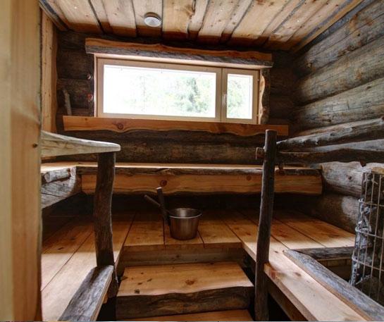 Saune casetta con stufa a legna hydrius saune - Stufe per esterno ...